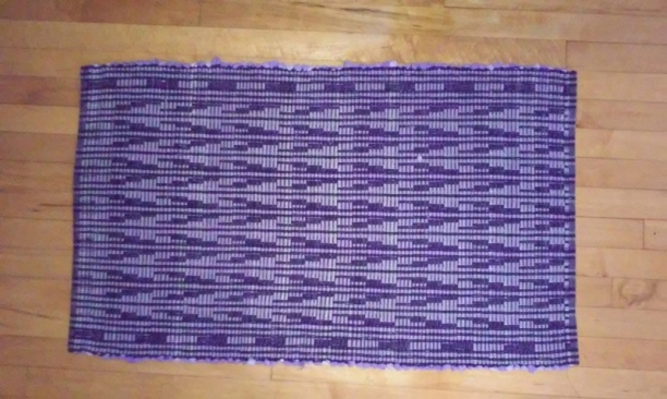Finished Egyptian Rug1 topview