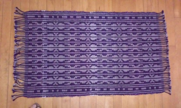 Finished Egyptian Rug2 topview